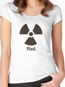 Rad. Women's Fitted Scoop T-Shirt