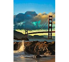 Golden Gate Sunset Photographic Print