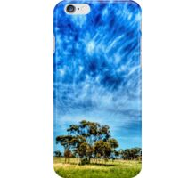Arboreal Exhalation - Western NSW - Australia iPhone Case/Skin