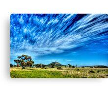 Arboreal Exhalation - Western NSW - Australia Canvas Print