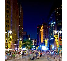 Martin Place - Sydney Festival First Night - Australia Photographic Print