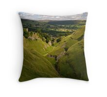 Cave Dale Throw Pillow