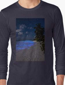 Fluorescent plankton in the Maldives - Indian Ocean Long Sleeve T-Shirt