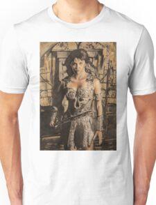 Xena - Airbrush portrait Unisex T-Shirt