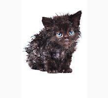 Black wet kitten Unisex T-Shirt