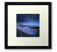 SAILING MEADOWNESS Framed Print
