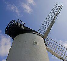 Llynnon Mill Windmill by Jon Lees