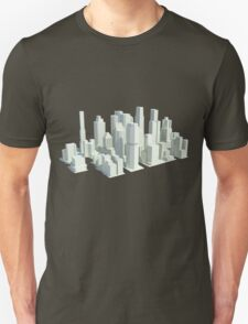Rendered city T-Shirt
