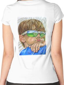 My Future's So Bright (I gotta wear shades) Women's Fitted Scoop T-Shirt
