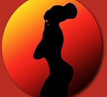 Arabica Jones - Silhouette  by 2rggraphics
