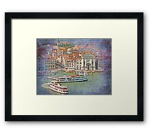 Venice...leaning tower... Framed Print