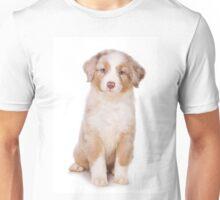 Puppy Australian Shepherd Unisex T-Shirt