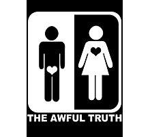 The Awful Truth Photographic Print