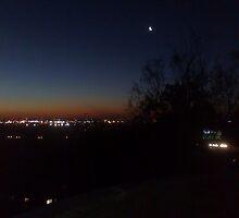 Perth Skyline by lennie13