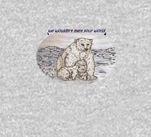 Polar Bears with a request T-Shirt