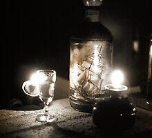 Bottle & Glass 1 by Doug Gruber