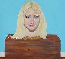 "Museum of strange things No1 ""Study of a blonde girl"" by precisionts"