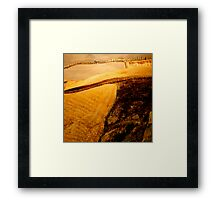 ...The Color of a Dream I Had Framed Print