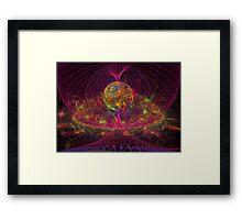Disco Inferno Framed Print