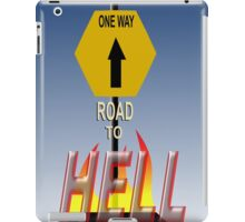 Road to Hell iPad Case/Skin