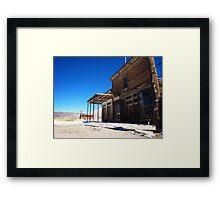 A quiet saloon Framed Print