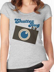Shutter bug Women's Fitted Scoop T-Shirt