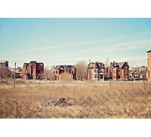 Brush Park  Photographic Print