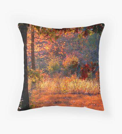 Deep Within Autumn Throw Pillow