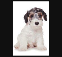 White Terrier puppy Kids Clothes