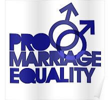 Pro marriage equality Poster