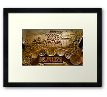 Aladdin Number Six Framed Print