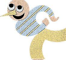 Roller Skater t-shirt by Edward Fielding