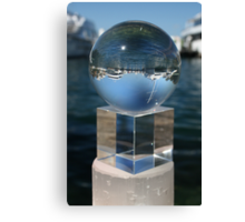Cylinder, Cube, Sphere Canvas Print