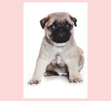 Charming pug puppy Kids Clothes