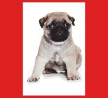 Charming pug puppy One Piece - Short Sleeve