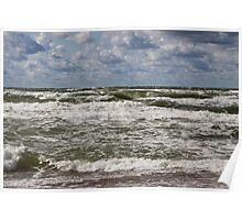 The Baltic sea at day Poster