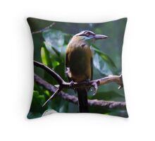 Perched Throw Pillow