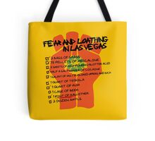 Fear and Loathing in Las Vegas checklist Tote Bag