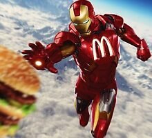 Iron Man mcdo by Dj-casquette