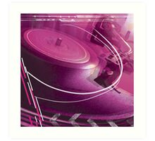 Turntable Art Print