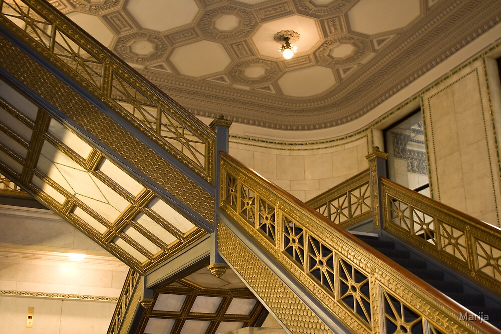 Chicago Cultural Center by Marija