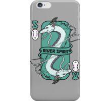 The river spirit card iPhone Case/Skin