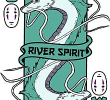 The river spirit card by edcarj82
