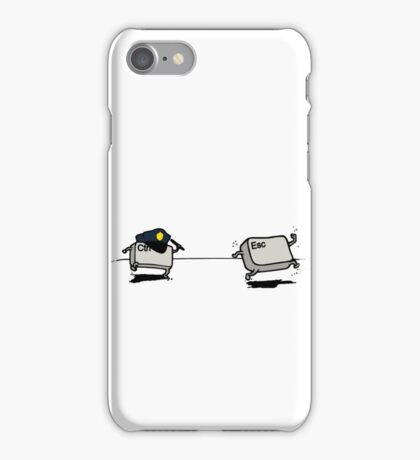 CTRL Police After ESC iPhone Case/Skin