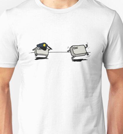 CTRL Police After ESC Unisex T-Shirt