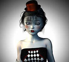 Circus doll carnival by Britta Glodde