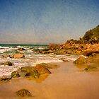 Sharkies Beach by Kitsmumma
