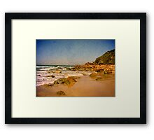 Sharkies Beach Framed Print