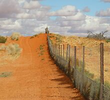 Dog fence by digitalman