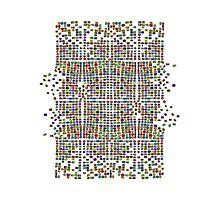 Broken Pattern Artwork Photographic Print